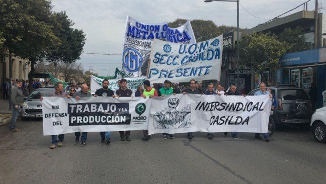 Temen cierre de industrias y comercios en Casilda y la zona