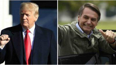 Bolsonaro viajó a EEUU a sellarsu alianza con Donald Trump