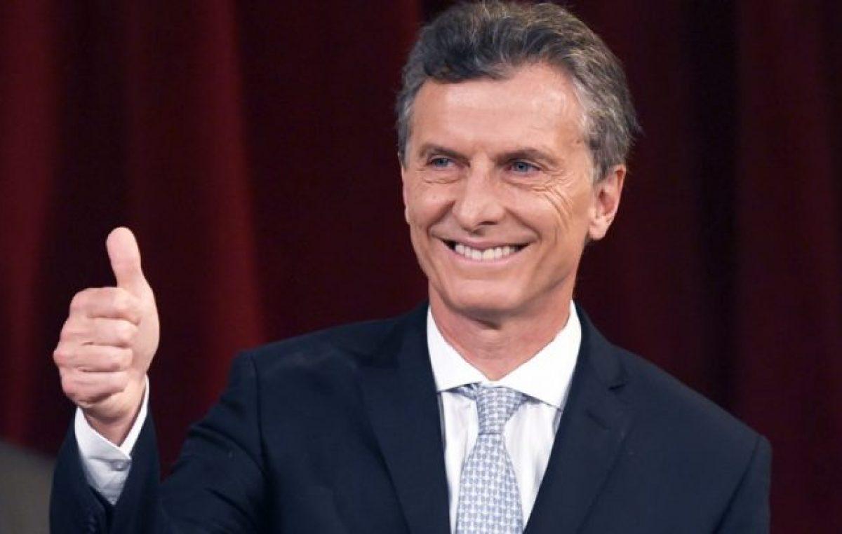 """Pese a la profunda crisis económica, Macri aseguró que """"el país está creciendo"""""""