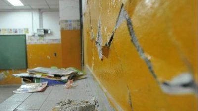 La Emergencia en Infraestructura escolar en Mar del Plata profundizó la crisis en Cambiemos