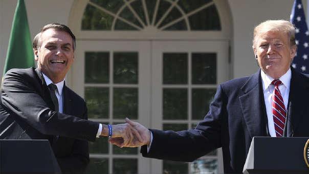 Bolsonaro tuvo su viaje soñado a Estados Unidos
