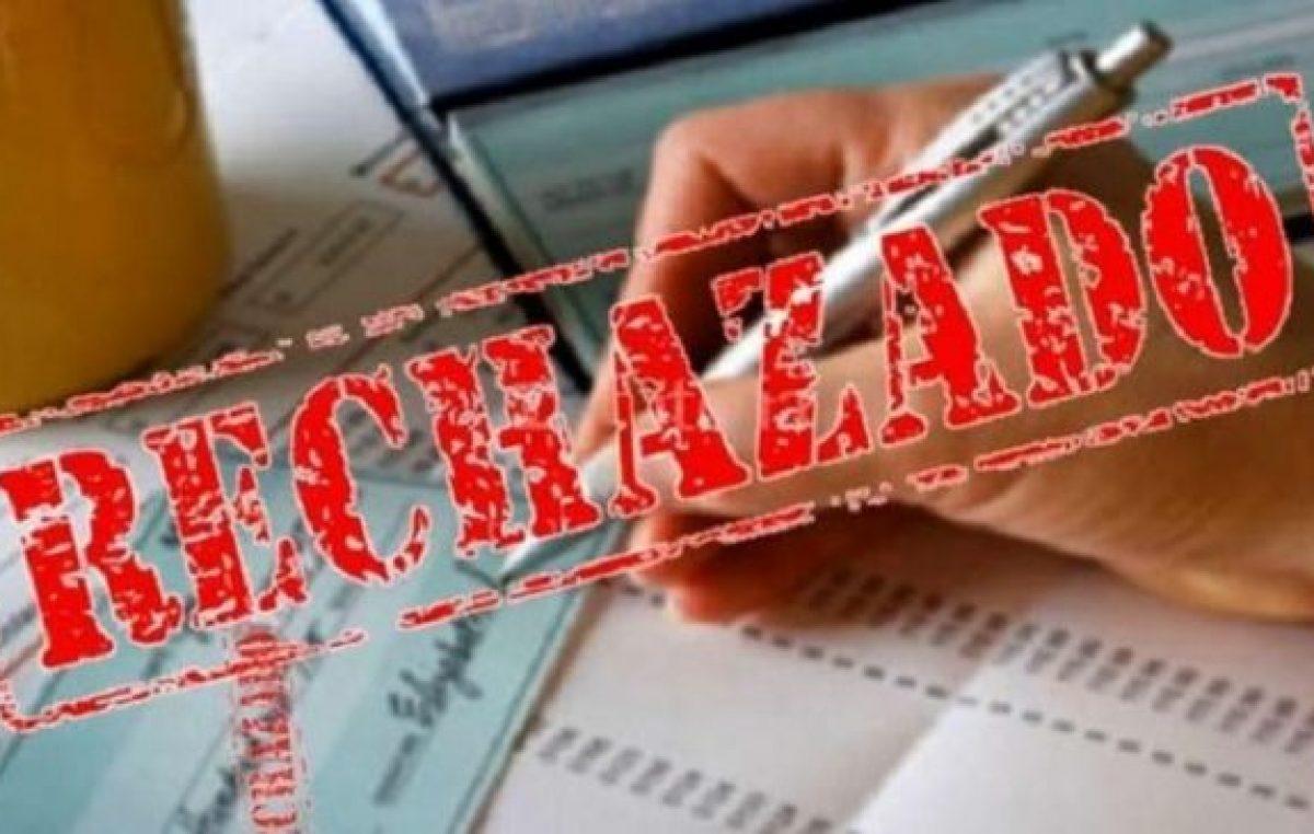 Alerta por la cadena de pagos: el nivel de cheques rechazados ya es similar al de 2001