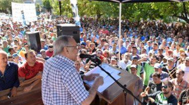 Sampayo reasumió al conducción del STM y anunció su precandidatura a intendente de Resistencia