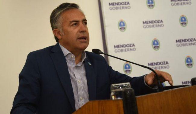 El gobernador de Mendoza aceptó que los cuatro intendentes del PJ vayan por un nuevo mandato