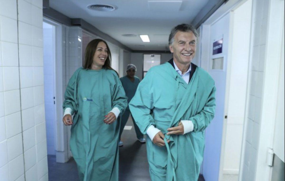 La gobernadora Vidal no se atiende en los hospitales públicos