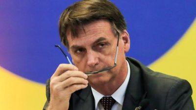 Bolsonaro acusa a los periodistas de querer derrocarlos