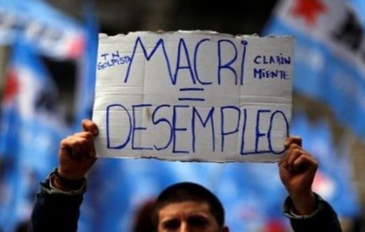 Macri, el gran desempleador
