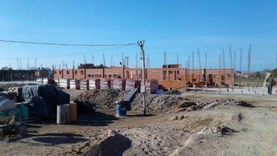 Quejas por la obra del hospital de Las Grutas
