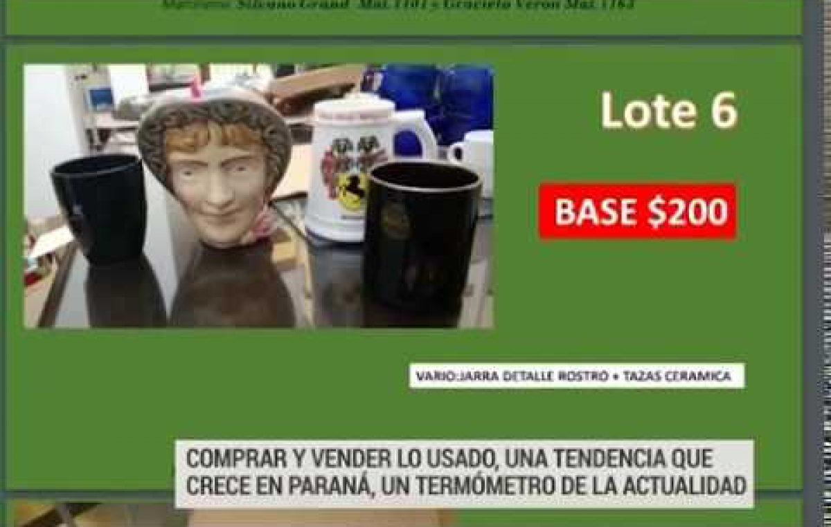 Comprar y vender lo usado, una tendencia que crece en Paraná