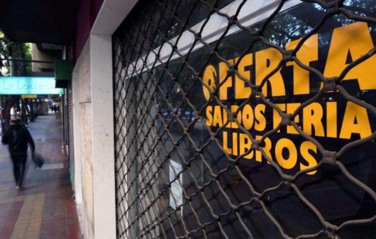 Mendoza: En San Martín hay 178 comercios que cerraron en solo 8 meses