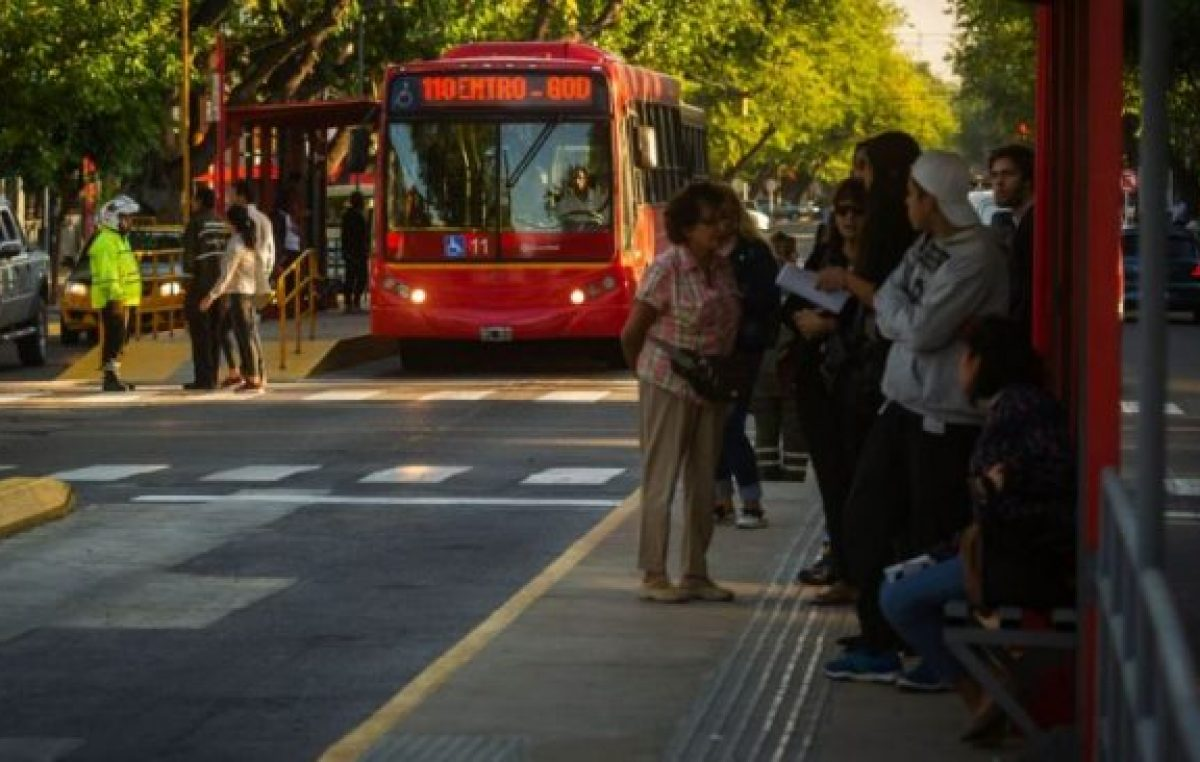 Las Heras quiere Metrobus, Capital y Luján de Cuyo, no