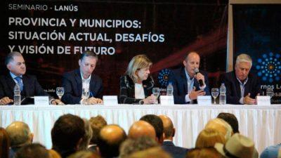 """Intendentes bonaerenses debatieron sobre """"Situación actual y desafios """" para los municipios"""