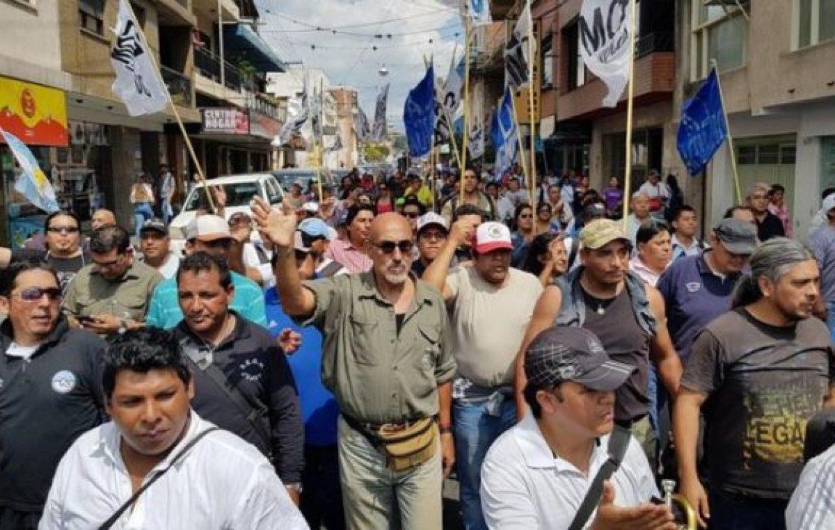 El Sindicato de municipales de Jujuy convocó a paro ante la visita de Macri