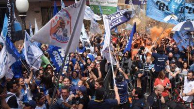 El paro nacional del martes 30 será con movilización en Rosario