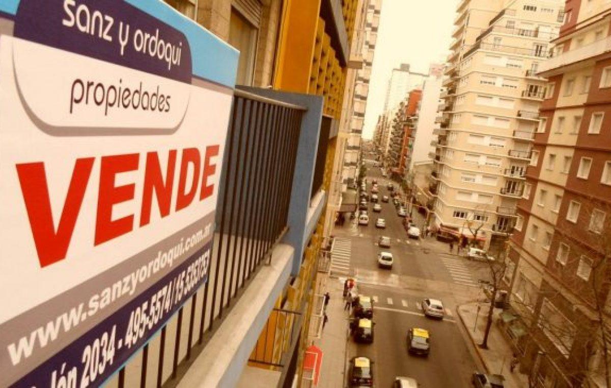 Con los créditos hipotecarios inaccesibles, la compraventa de inmuebles cayó más del 50% en Buenos Aires