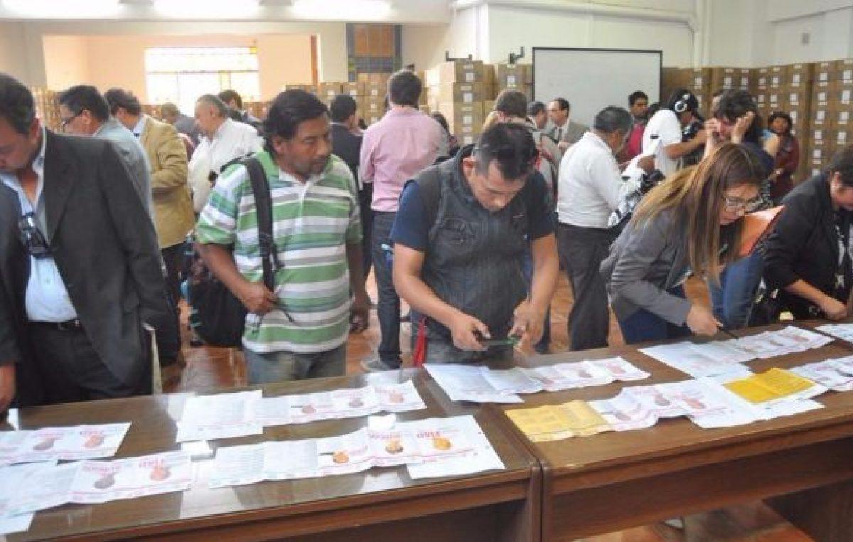Casi 80 partidos políticos están formados en Jujuy