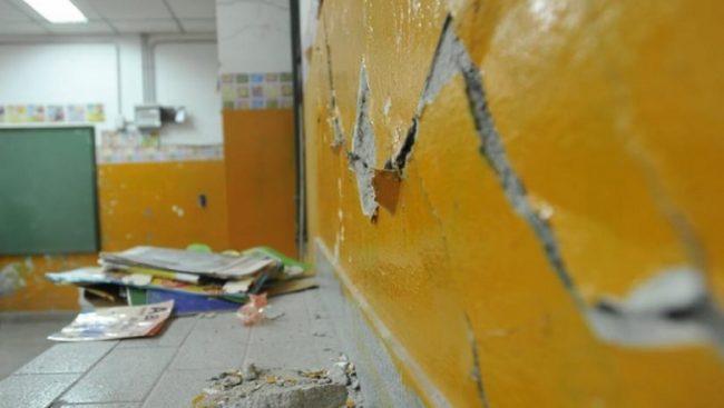 El municipio de Mar del Plata recibe más de un millón de pesos por día, pero el 50% de las escuelas tiene problemas edilicios