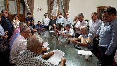 Gremios Municipales santafesinos e Intendentes acordaron la política salarial