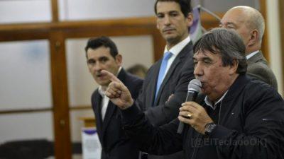 Rubén García advierte a legisladores e intendentes: «Nadie nos va a tocar la ley de los municipales»