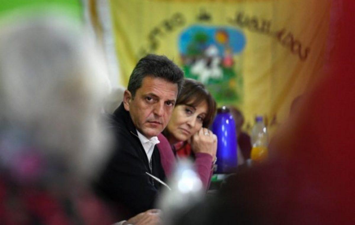 """Massa les marca la cancha a sus """"socios"""" de Alternativa Federal y presenta cien candidatos a intendente"""