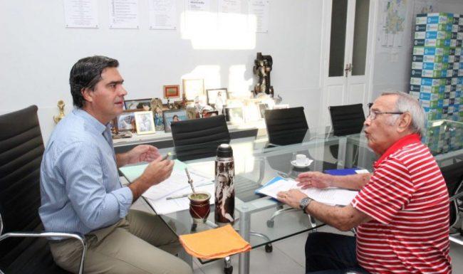 El intendente de Resistencia y el secretario general del STM evaluaron las distintas demandas planteadas por los municipales