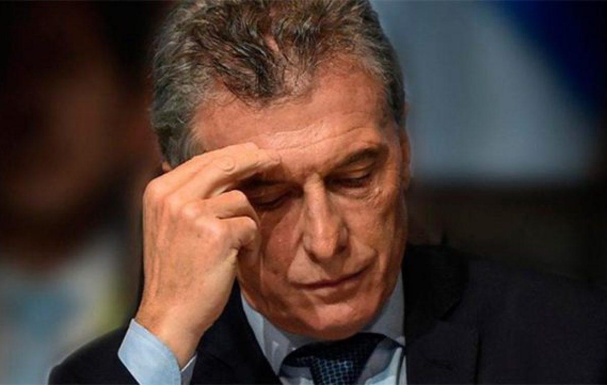 El peor día del gobierno de Macri: la necesidad de ratificar su candidatura y la sombra de Vidal