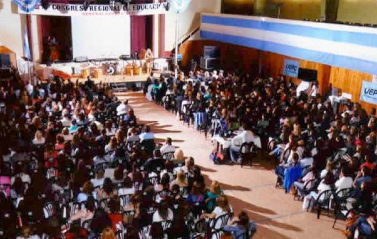 Por la crisis, no se realizará este año el Congreso de Educación en General Deheza