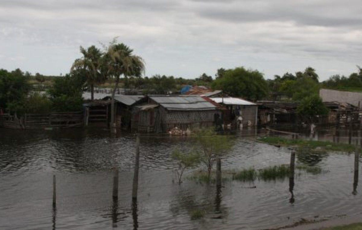 Hay más de 5.400 evacuados por el agua en Chaco y Formosa