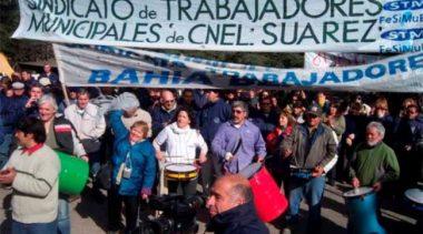 Suárez: municipales negociaron un aumento del 18,5% acumulado