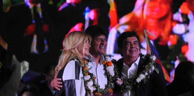Evo Morales, visitante ilustre de La Matanza