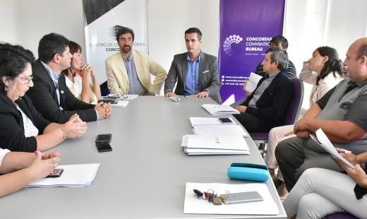 El Intendente de Concordia impulsa la reforma del escalafón municipal