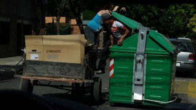 Crisis económica: se triplicaron los cartoneros entre 2017 y 2019 en Rosario