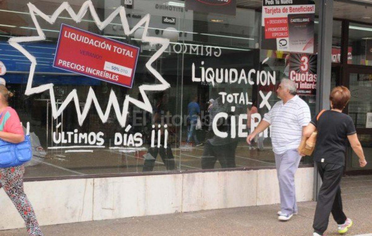 """Para el comercio santafesino """"la caída no tiene piso y el futuro no es promisorio"""""""