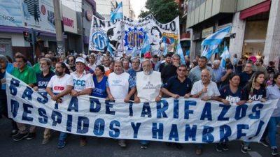 Convocan en Rosario a una nueva marcha contra los tarifazos y el ajuste