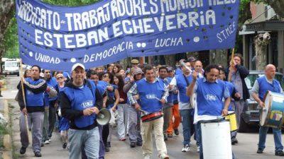 Municipales de Echeverría exigen una convocatoria a paritarias