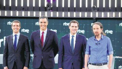 España: El debate reafirma dos bloques ideológicos