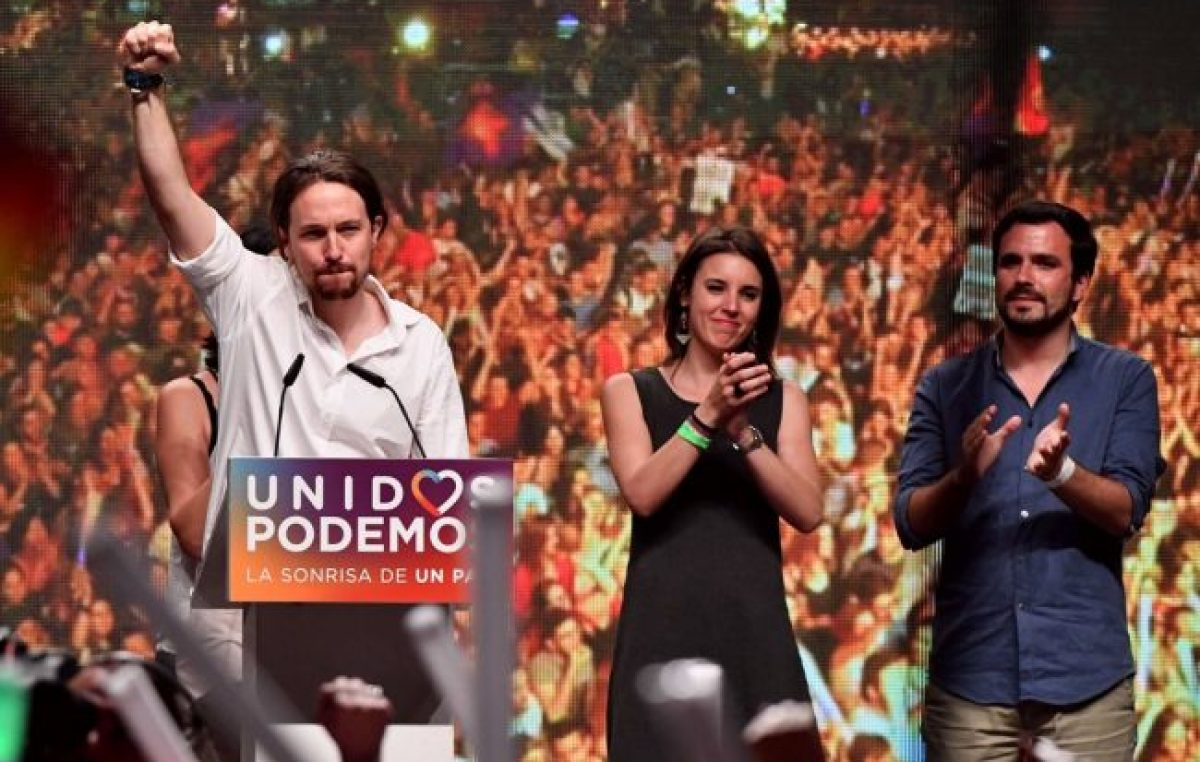 La campaña sucia contra Podemos