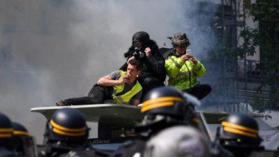 Día del Trabajador: incidentes en París