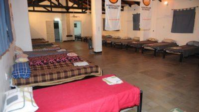 Abrió el refugio municipal de Rosario y sumaron más camas