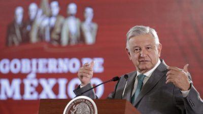 López Obrador anunció un «instituto para devolver lo robado»