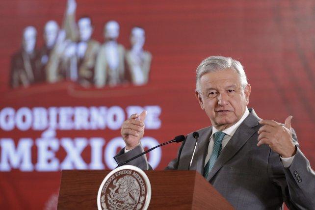"""López Obrador anunció un """"instituto para devolver lo robado"""""""