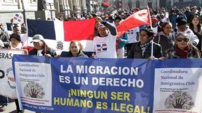 La CIDH tomó nota de las trabas en contra los de los migrantes en Chile