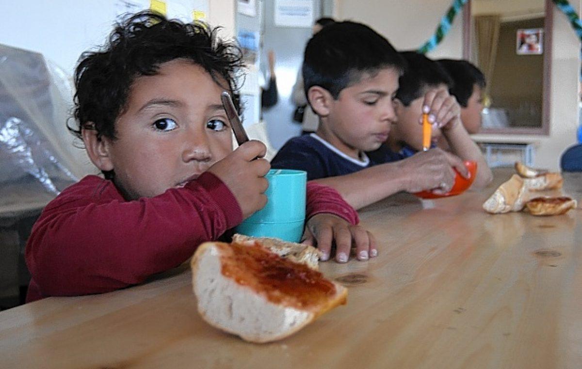 El 50 por ciento de los niños que van a merenderos neuquinos están malnutridos