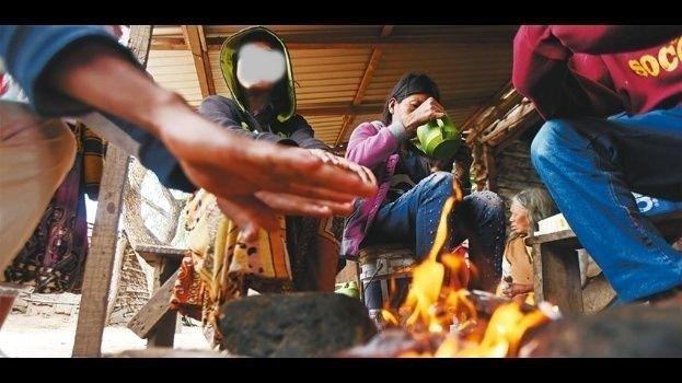 San Juan: Más de 300 familias de Iglesia padecen los coletazos de las bajas temperaturas