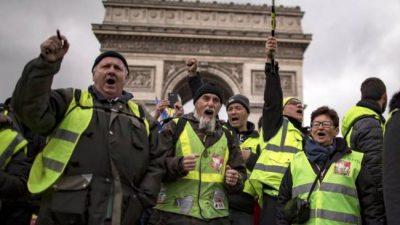 El poder en Francia vive bajo el influjo amarillo
