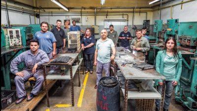 El resultado de luchar: exponen fotografías de trabajadores y trabajadoras de cooperativas
