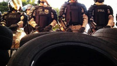 Buenos Aires: pese a la represión, agrupaciones de base se desmarcaron de la CGT con protestas