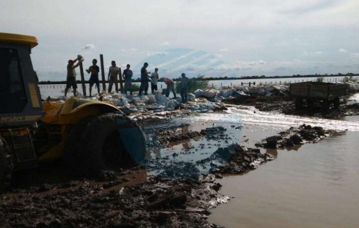 """El norte de Santa Fe atraviesa «la peor inundación de los últimos 40 años"""""""