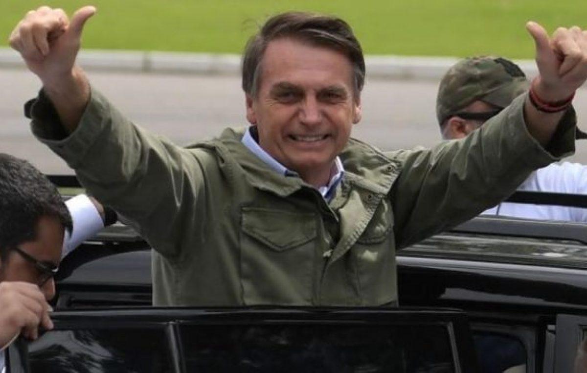 Bolsonaro, rápido y furioso