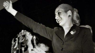 Actos y homenajes para Eva Perón